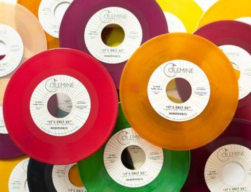 """Pre-order: """"It's Only Us"""" b/w """"Get the Gold"""" Limited Random Colored 7inch"""